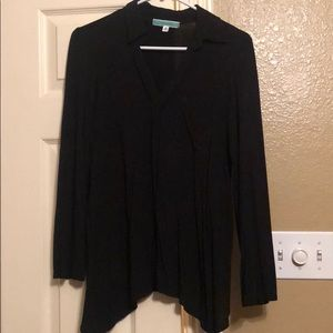 Pleione black Long Sleeve Shirt.